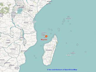 Situation de Mayotte dans l'Océan Indien